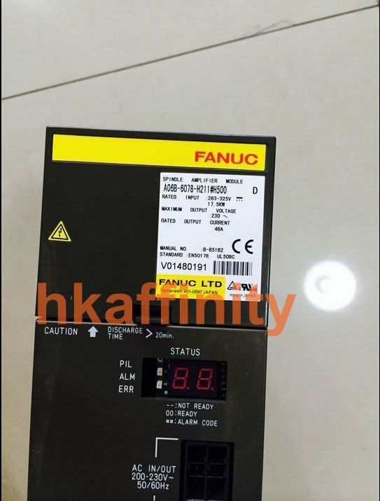 Details about 1 PC Fanuc Spindle Amplifier A06B-6078-H211