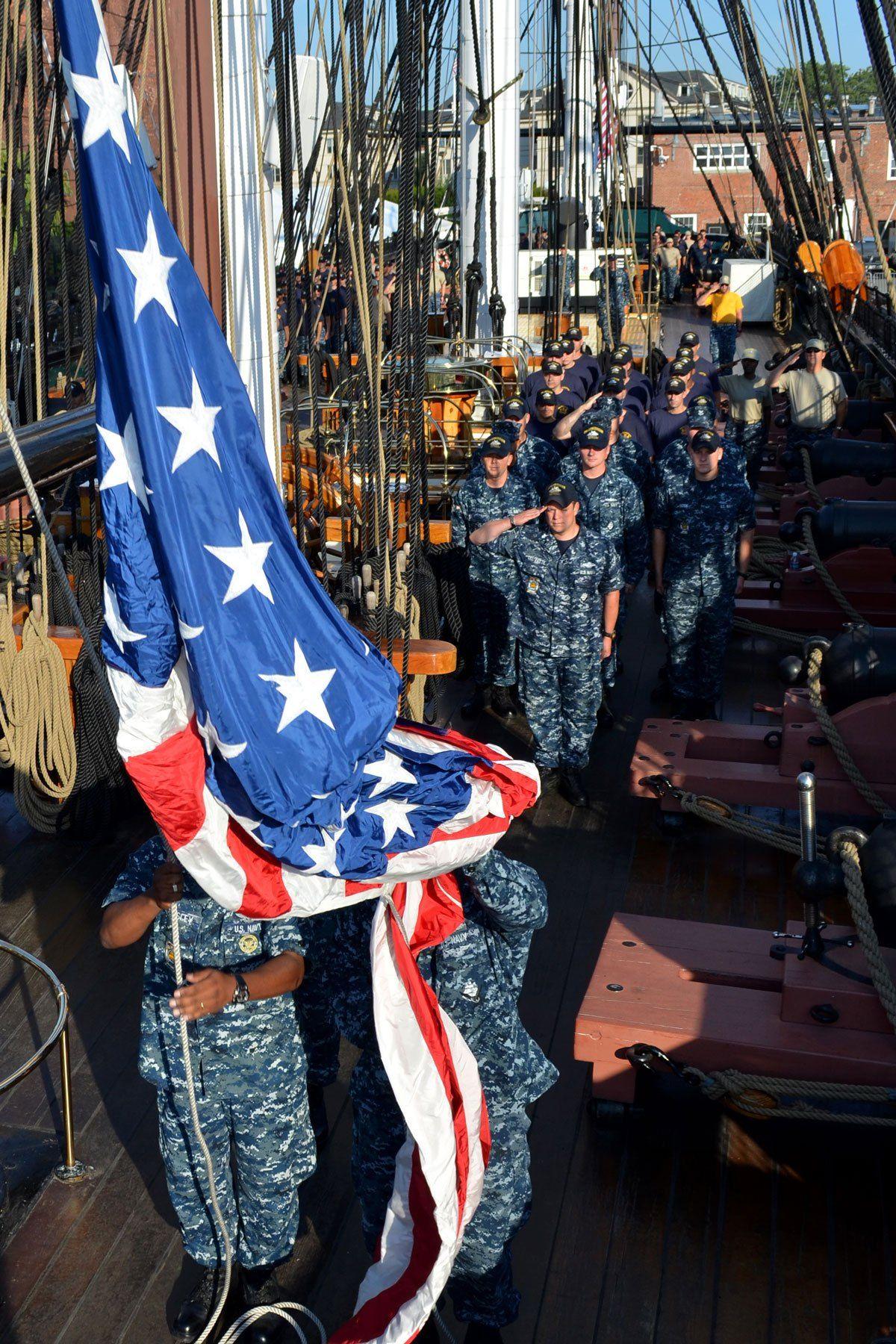 352a7d5fc356 USS CONSTITUTION - The War of 1812