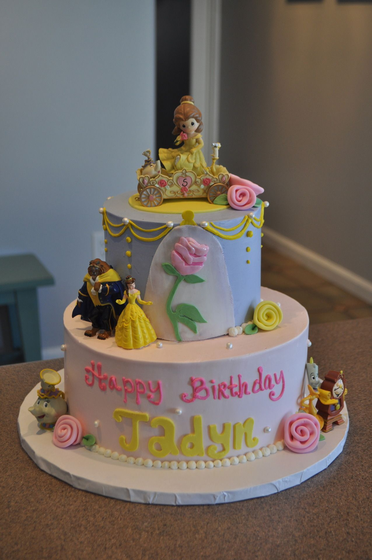 Beauty and the Beast Cake Cakes Pinterest Beast Cake and