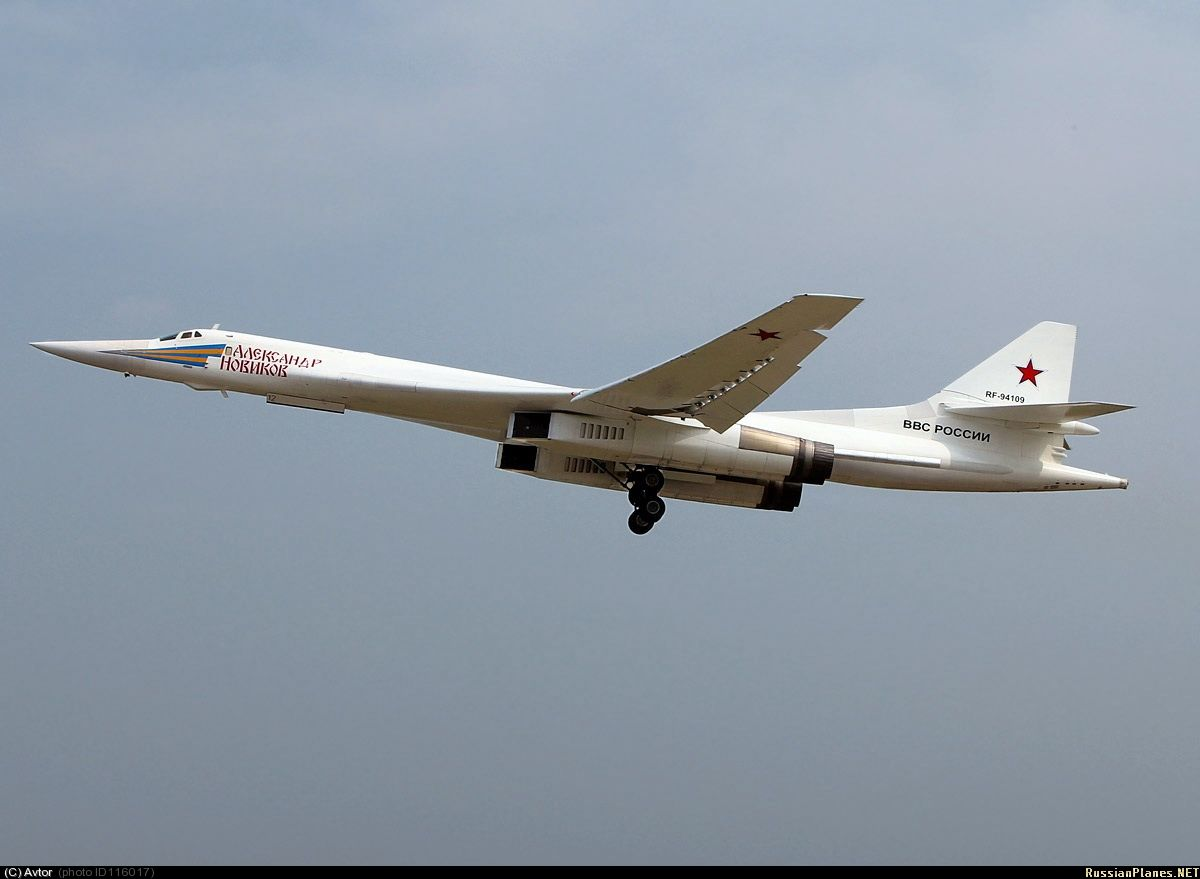 Tu-160 Blackjack, Russian Air force.
