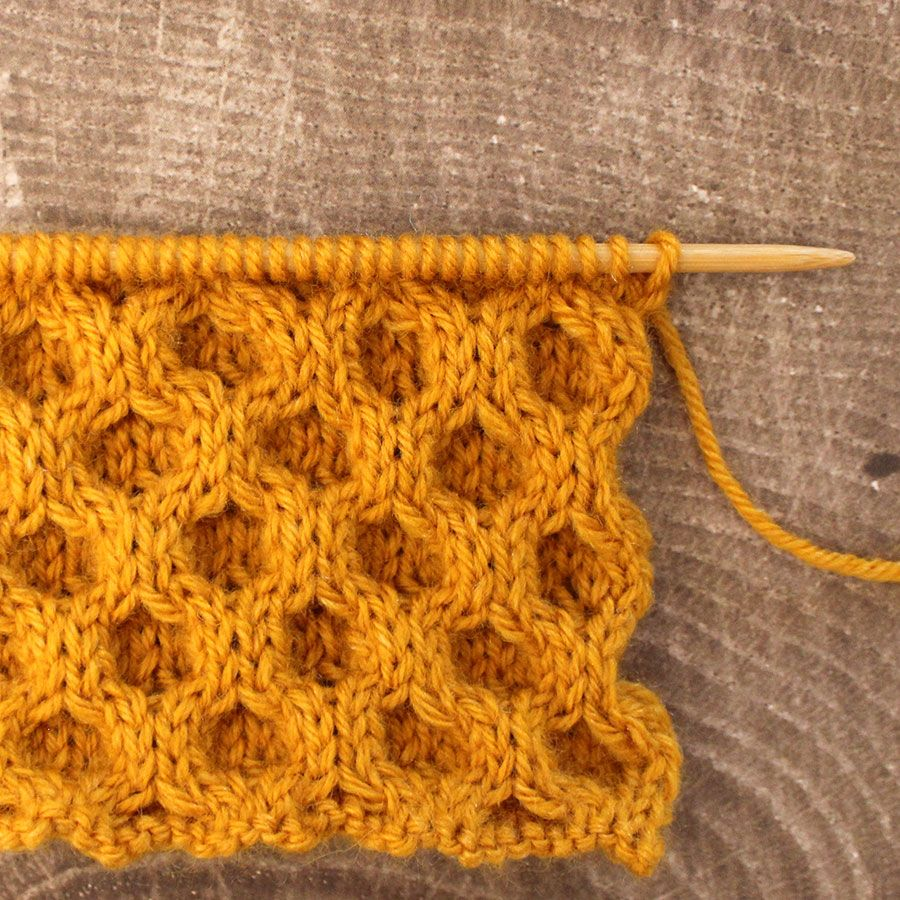 How to Knit the Celtic Cable | Honeycombs, Stitch and Tutorials