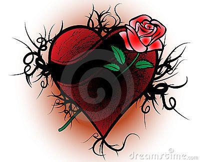 Tattoos A Bleeding Rose The Broken Heart Celtic Pierced Tattoo Bleeding Rose Tattoos Tattoo You
