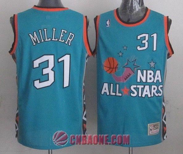 4db52d4d4b67 Mitchell And Ness Magic  1 Penny Hardaway Light Blue 1996 All Star Stitched  NBA Jersey