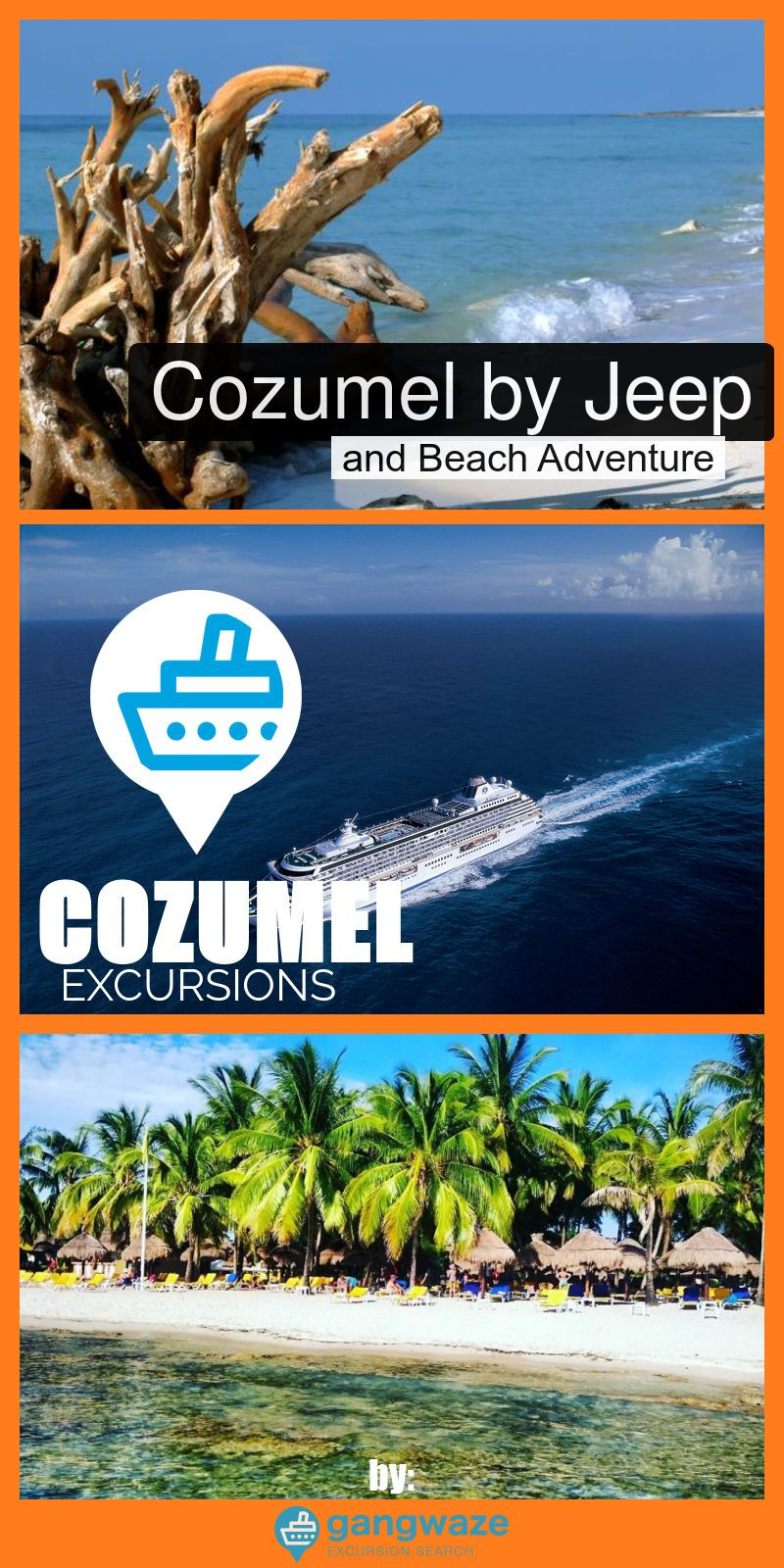 Cozumel Jeep And Beach Adventure Cruise Excursion Port