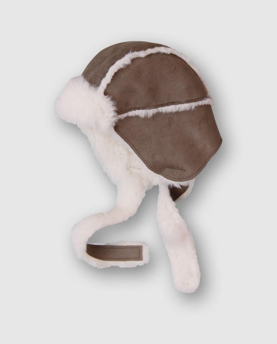 Gorro de bebé Boboli en beige con pelo · Boboli · Moda · El Corte ...