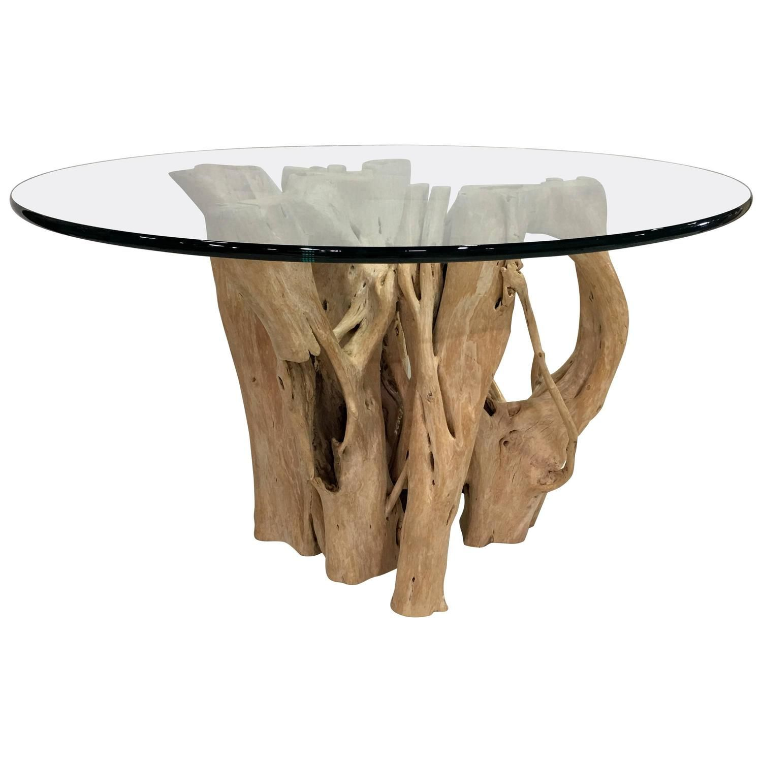 cypress tree trunk dining table by michael taylor