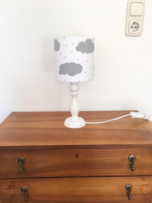 Tischlampe Kinderzimmer Wolken, Kinderlampe