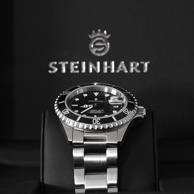 Steinhart Ocean One Black by Plamen Velev, via Flickr