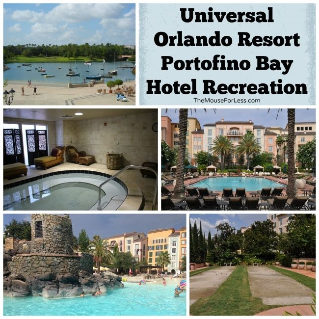 Loews Portofino Bay Hotel | Universal Orlando, Orlando Resorts And Volcano