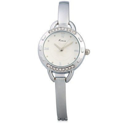 $7.44 (Buy here: http://appdeal.ru/cks5 ) Kimio KW6011S Ladies Diamond Quartz Watch Alloy Band for just $7.44