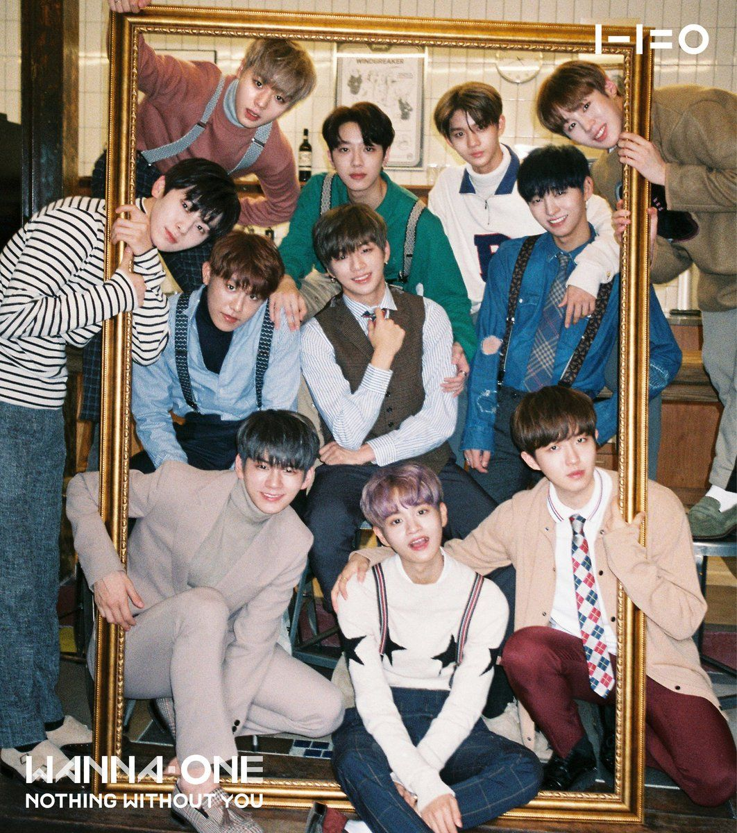 Wanna One On Nothing Without You Album Covers Album Releases