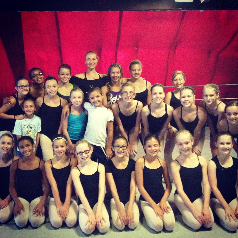 Ekaterina In Denver At Auditions Dance Studio Dance Ballet