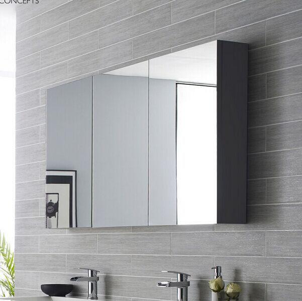 italiaanse klassieke badkamer spiegelkast spiegelkast-afbeelding ...