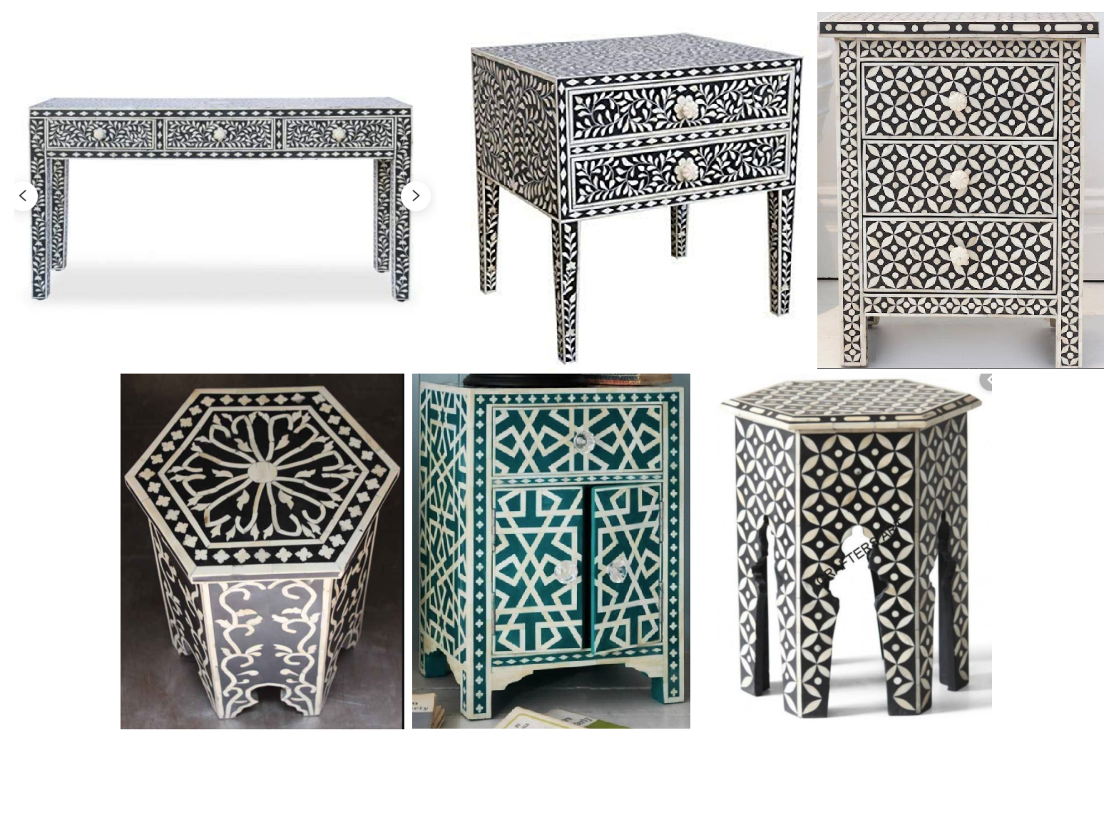 Bone Inlay Furniture With Images Bone Inlay Furniture Bone
