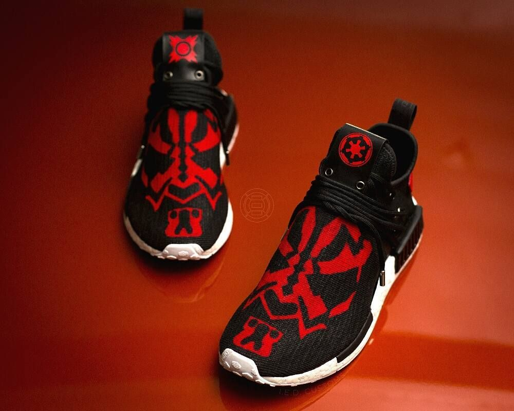 dark maul custom adidas nmd nmd nmd xr custom pinterest adidas. 7e834c