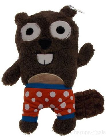 """Gund Bear In Underwear 12/"""" Plush Friends Stuffed Animal Striped Undies Soft Toy"""