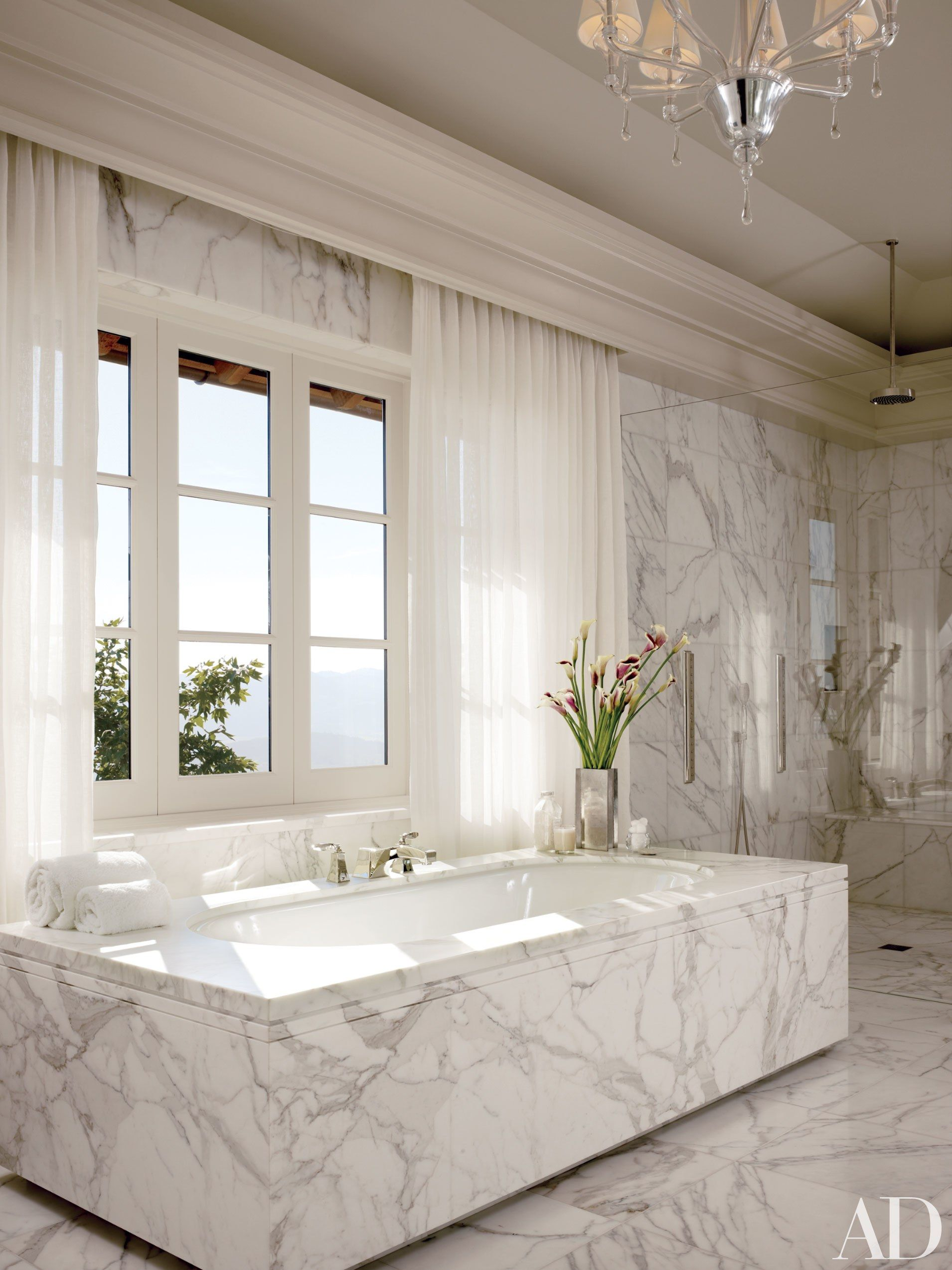 24 White Baths That Will Transform Your Home into a Spa | Pinterest ...