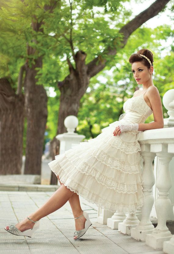 Bridesmaid Dress Wedges