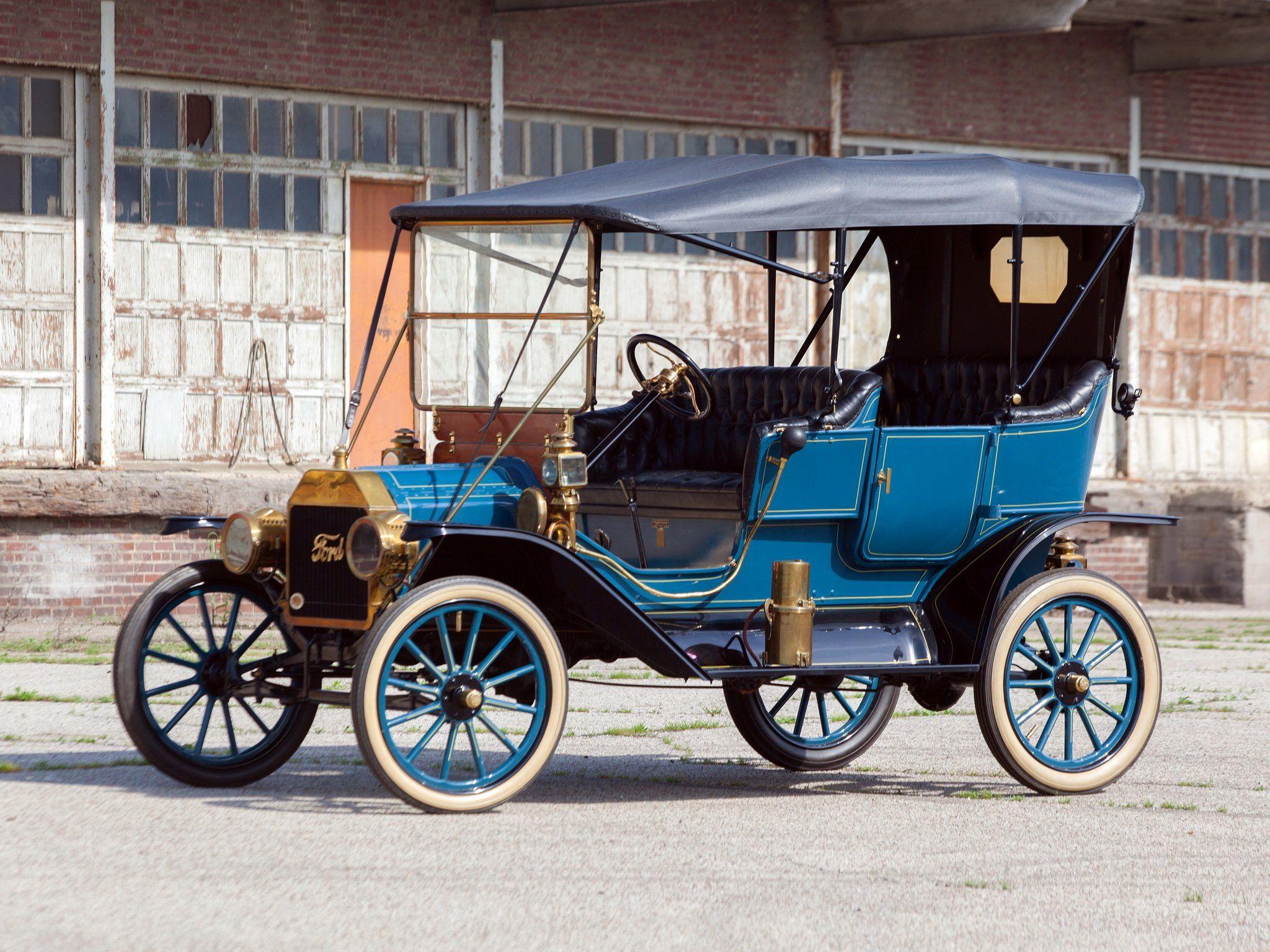 1911 Ford Model T Touring Retro G Wallpaper 2048x1536 370945 Wallpaperup Ford Models Ford Classic Cars Old Classic Cars