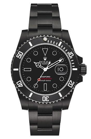 bb966f9c973 Bamford Watch Department Customized Rolex Submariner Watch Relógios Legais
