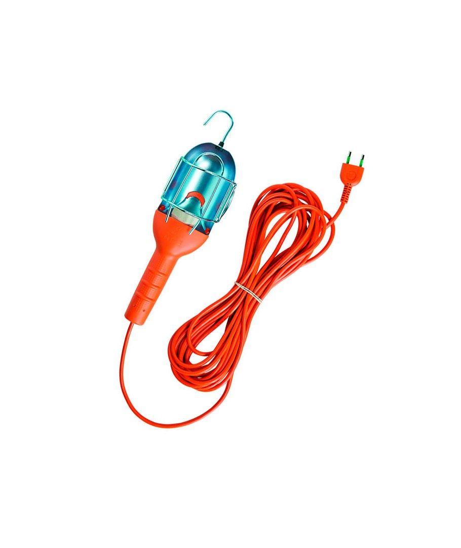 Lampara Portatil Con 10 M Naranja Lamparas Portatiles Lampara Portatil Con 10 M De Cable Y En Color Naranja Con Int Lampara Hogar Calido Iluminacion Interior