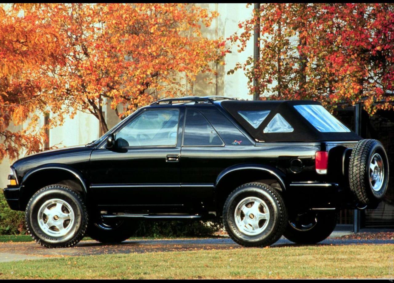 1999 Chevrolet Zr2 Shark Concept Chevrolet Chevrolet Blazer Convertible