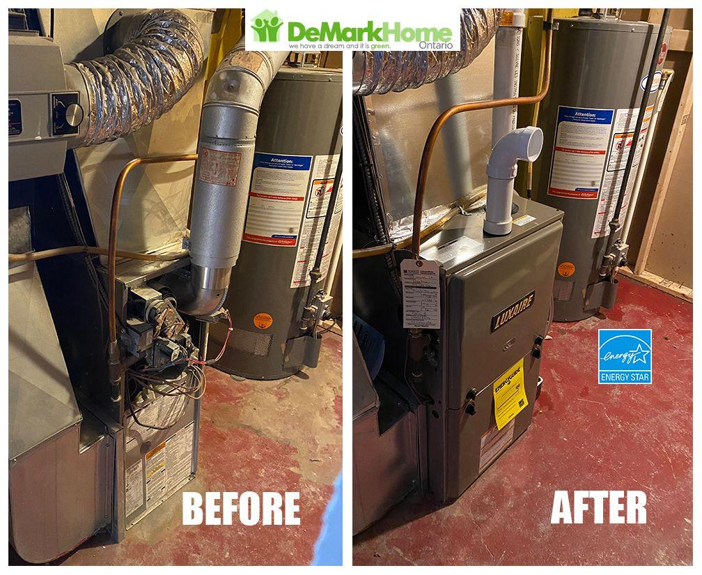 No Heat, high efficiency furnace emergency installation ⭐️