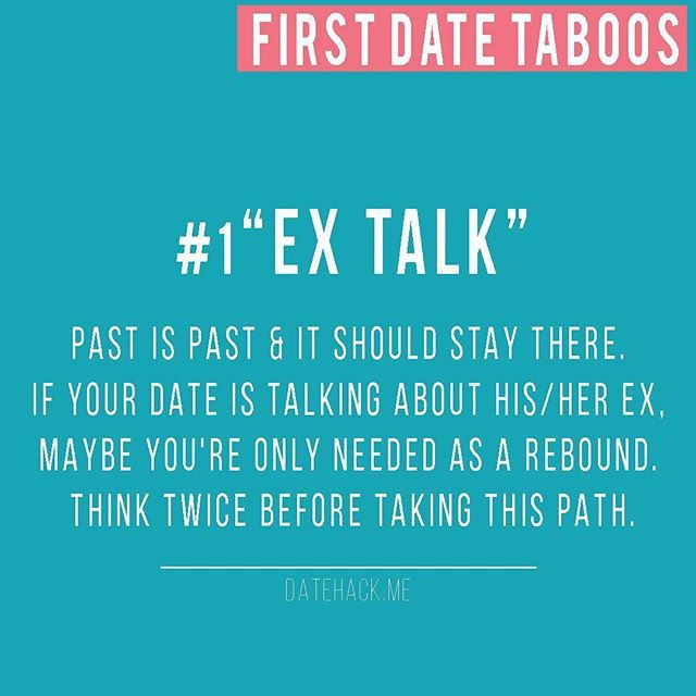 Dating talking about past relationships