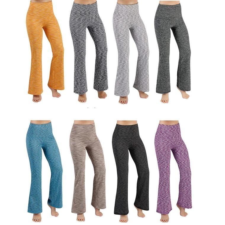 b185e871d7417 Women Comfy Solid Plus Size Sports Yoga Legging Pants