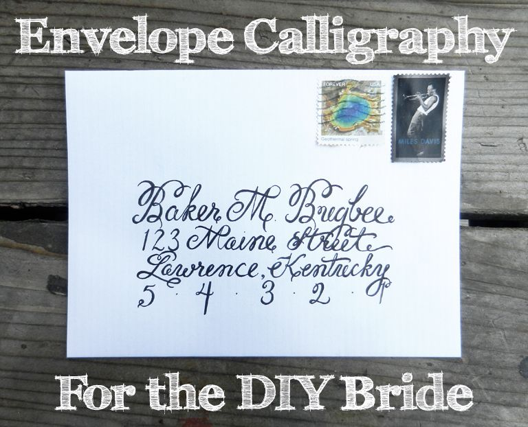 17 Best images about Pretty Handwriting – Learn Calligraphy Wedding Invitations