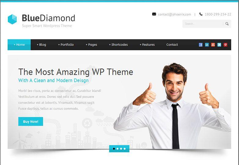30 fresh WordPress business themes | Wordpress, Business and ...