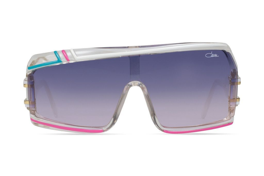 277f4d5d31ee Cazal 858 Sunglasses - White Pink Turquoise