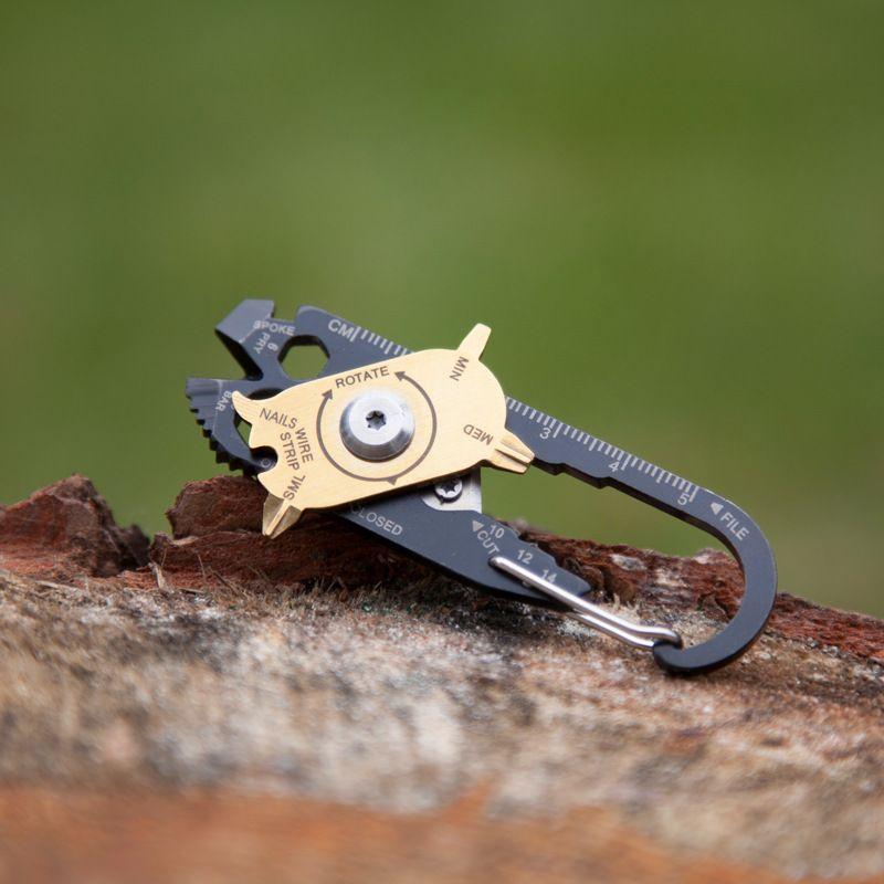 다기능 조합 도구 키 드라이버 톱 렌치 칼 20 1 멀티 도구 EDC 야외 휴대용 도구