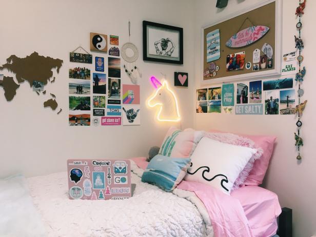 #roomdecor #aesthetic #room #decor em 2020 | Diy decoração ...