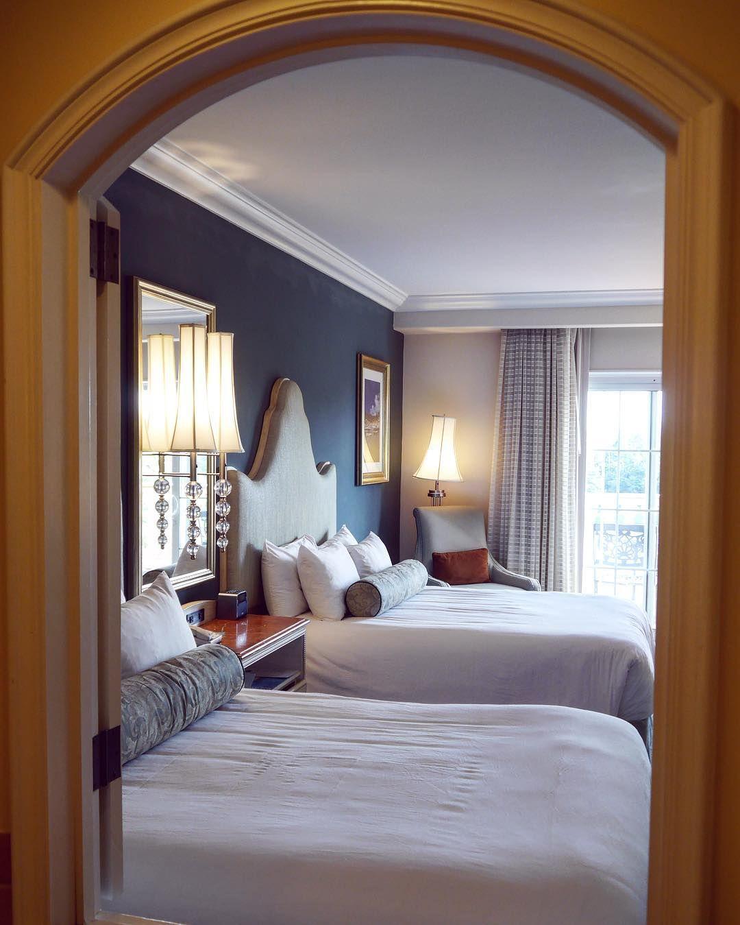 Beautiful Bedrooms At Loews Portofino Bay Hotel At