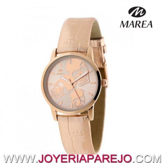 98e77f33d1de Reloj Marea Mujer B41126 9 Calavera Rosa