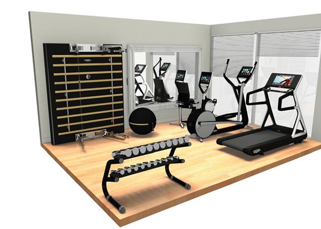 Gym layout design home pinterest