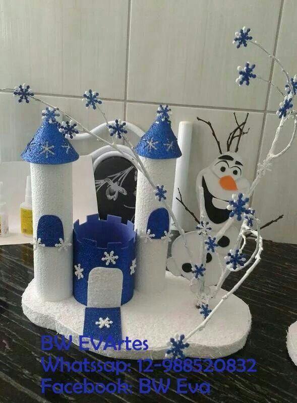 Centro de mesa, Frozen.