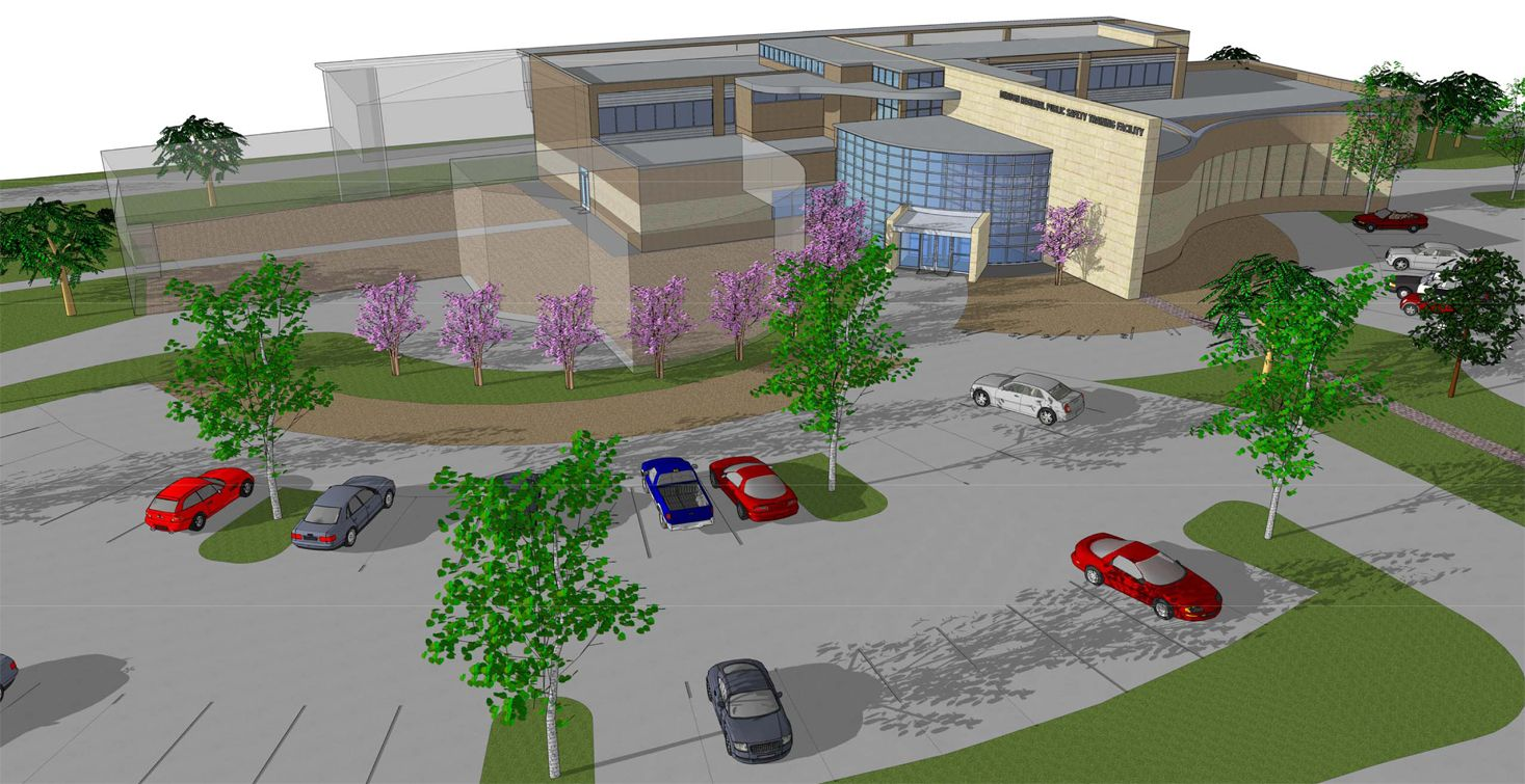 The Proposed Denton Public Safety Training Center For Denton Police And Fire Departments Safety Training Fire Department Training Center