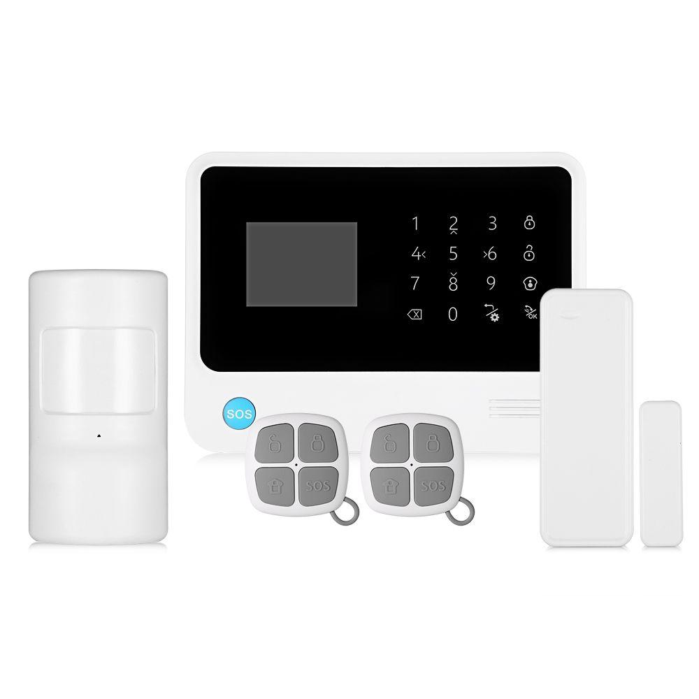 Check Price GS G90B Plus WiFi Home Alarm System Security GPRS GSM SMS  Wireless House Security Detector Burglar Alarm System Mainframe Kits #G90B  #Plus #WiFi ...