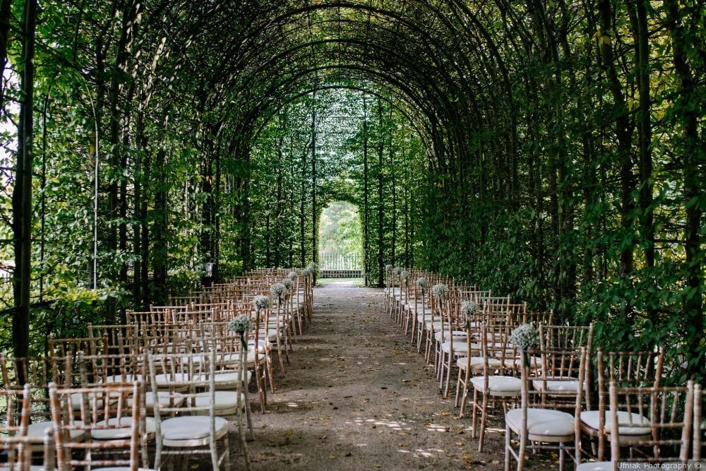 Breathtaking Garden Wedding Venue In Alnwick Northumberland