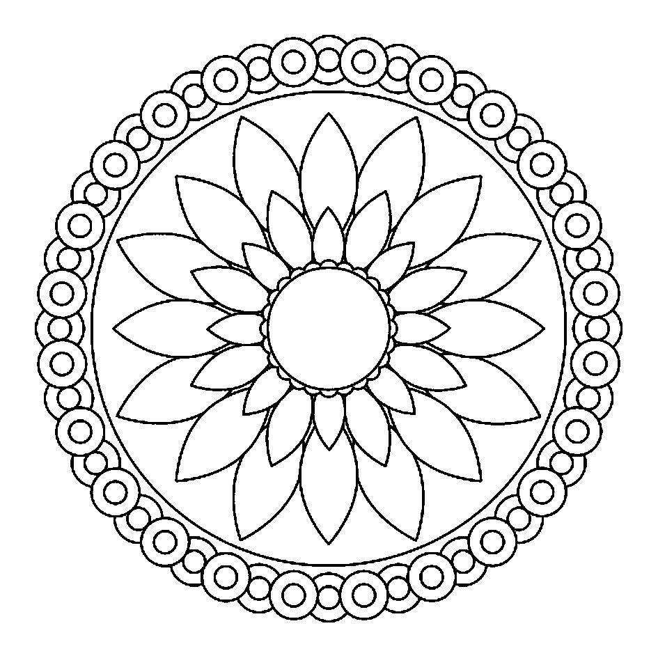 Mandalas Simple But Classy Coloring Pages For Kids Fnr Printable Mandalas Coloring Pages For K Mandala Coloring Pages Abstract Coloring Pages Simple Mandala