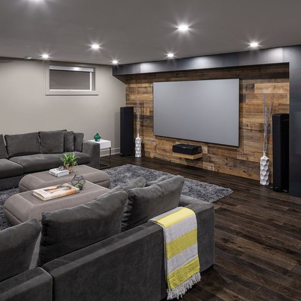 Home Design Basement Ideas: 30+ Best Small Movie Room Design For Your Happiness Family