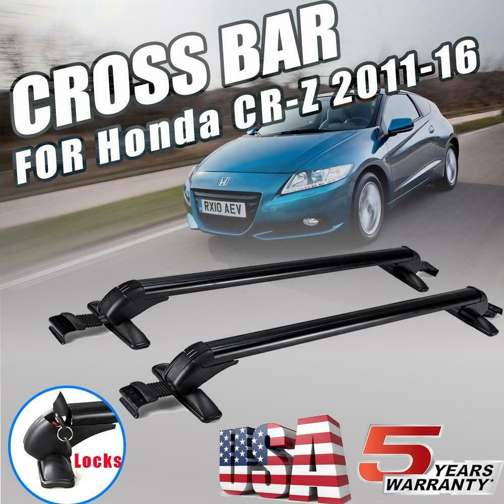 Ebay Sponsored For Honda Cr Z 2011 2016 Roof Rack Cross Bar Cargo Carrier Window Frame Aluminum Cargo Carrier Honda Cr Roof Rack