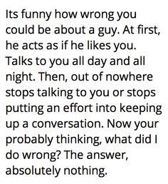 How to tell if a guy stops liking you