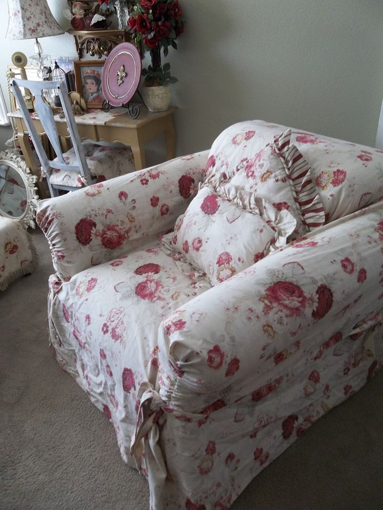 Chair Covers And More Norfolk Aeron Chairs Currently Listed For Sale On Ebay Waverly Vintage Rose Slipcover Shabby Cottage Chic Romantic Home
