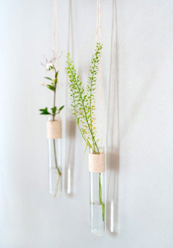 Wall Flower Vase Room Wall Decor Hanging Wall Vase Decorative