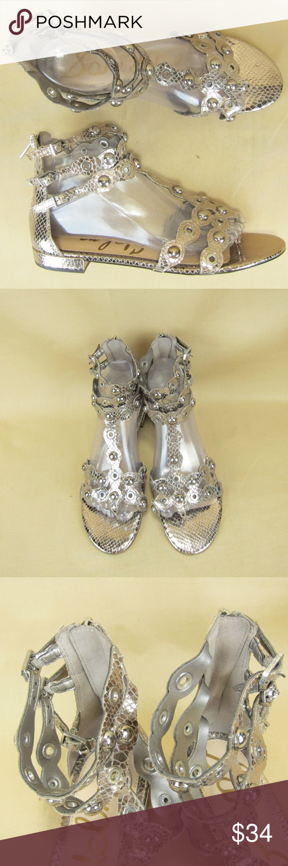 e7b56fab73d0 Sam Edelman Desi Gladiator Sandal Ankle Strap US 9 You are purchasing a  pair of Sam