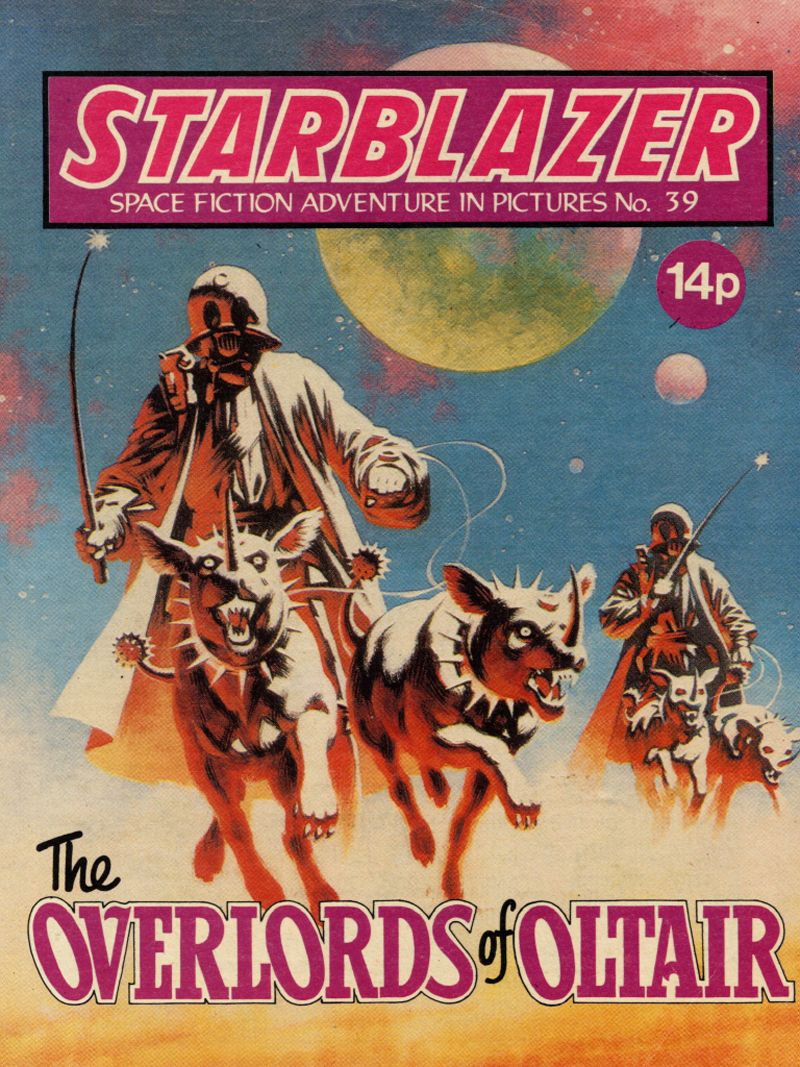 Starblazer, Space Future Adventure in Pictures 039