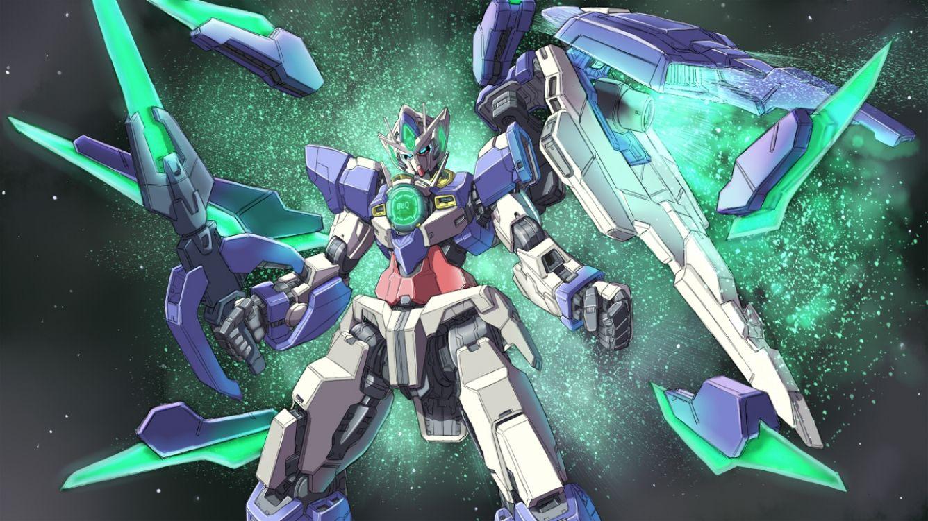 Gn 001reii Gundam Exia Repair Ii Mobile Suit Gundam 00 Gundam Exia Gundam 00
